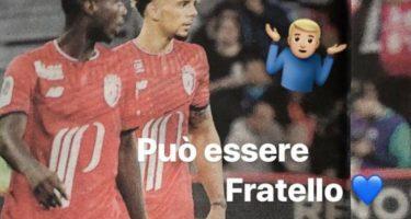 """FOTO – Giallo Malcuit, pubblica una foto con Pepé: """"Può essere, in Serie A"""", poi ha rimosso il post"""