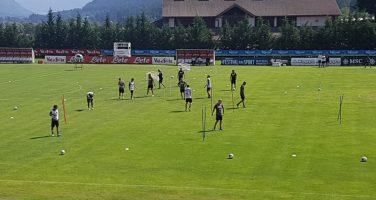 ReLIVE – Dimaro, day 12: Ancelotti lavora sul possesso palla eludendo la pressione avversaria. Assenti Manolas e Karnezis