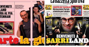 """FOTO – La Gazzetta parla di """"Sarriland"""", il commento di Pistocchi è tutto da leggere!"""
