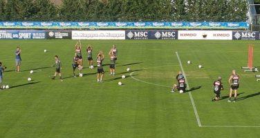 Tutti pazzi per Mario Rui! Fenomenale nei calci di punizione: a Dimaro c'è l'ovazione per il portoghese!