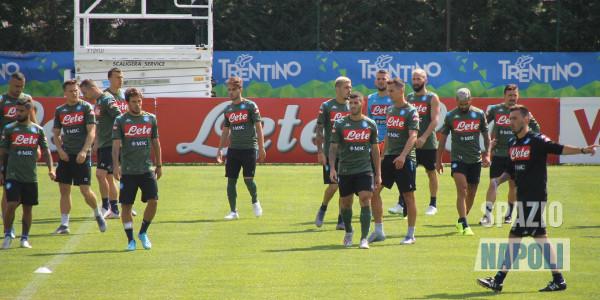 Napoli, 5-0 al Feralpisalò: in gol Manolas e doppietta di Verdi