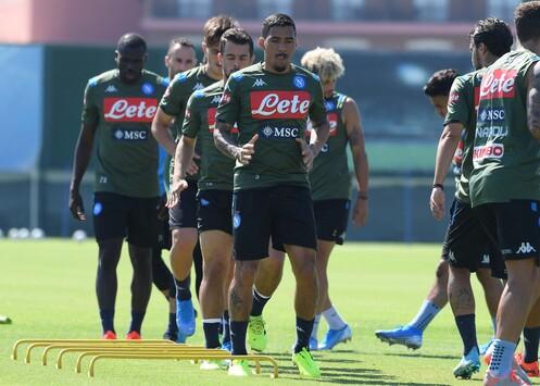CASTEL VOLTURNO - Il Napoli prepara la gara con la Sampdoria ...