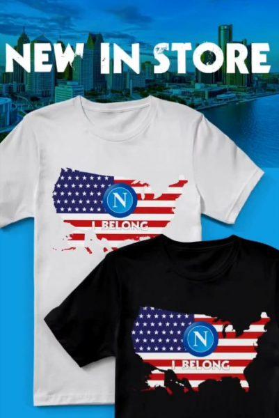 huge discount 5983f 89b7e FOTO - Il Napoli lancia la nuova maglia USA