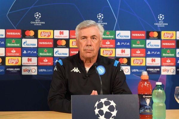 Genk-Napoli, il programma della vigilia: Ancelotti in conferenza stampa domani alle 17