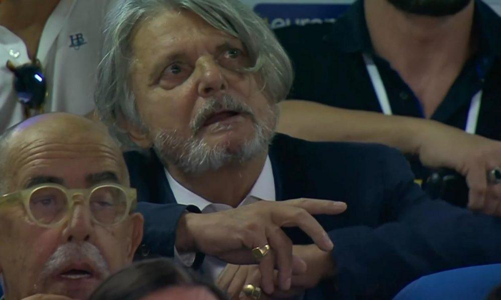 Sampdoria, minacce al presidente Ferrero: