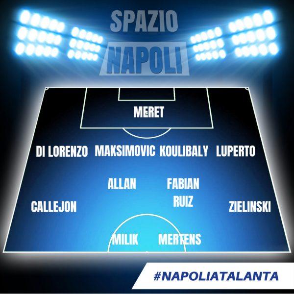 Napoli-Atalanta, Gasperini: