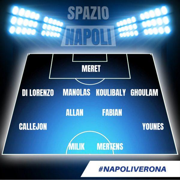 Hesgoal Napoli Verona streaming gratis: dove vedere la partita