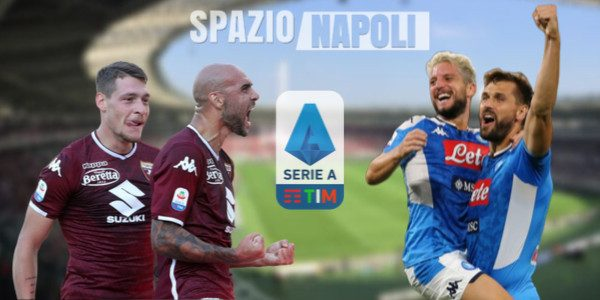 Torino Napoli probabili formazioni