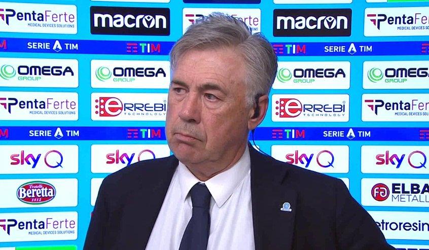 Napoli, Ancelotti in conferenza stampa: