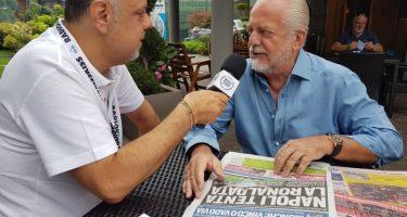"""De Laurentiis a KKN: """"Convenzione firmata, faremo altri lavori al San Paolo! Mertens? Un grande, ma Napoli non si deve amare per soldi"""""""