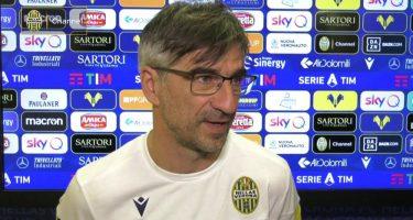 """Hellas Verona, Juric: """"Contro il Napoli tutto è possibile: non c'è differenza tra gli azzurri e la Juve. Tifosi presenti? Penso ai tre punti"""""""
