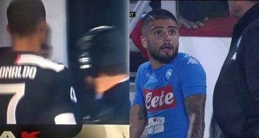 """Sarri giustifica Ronaldo, ma con Insigne andò diversamente. I due episodi con Lorenzo: """"Stai zitto"""""""