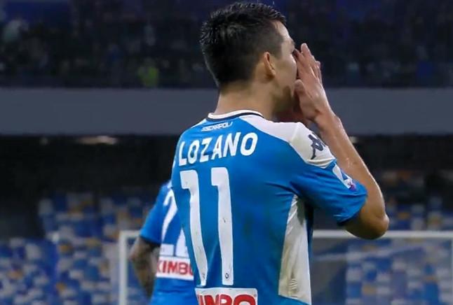 Napoli, Lozano si sfoga: