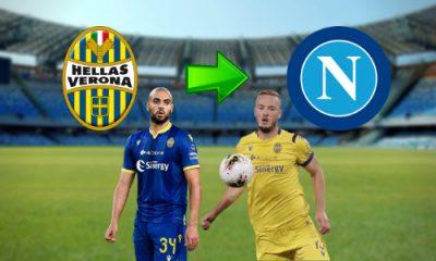 Sofyan Amrabat Amir Rrahmani Napoli Hellas Verona