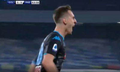 Pagelle Napoli Parma