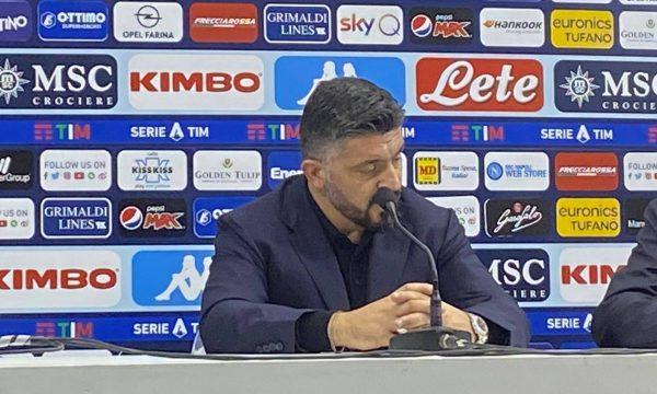 Gattuso in conferenza stampa: