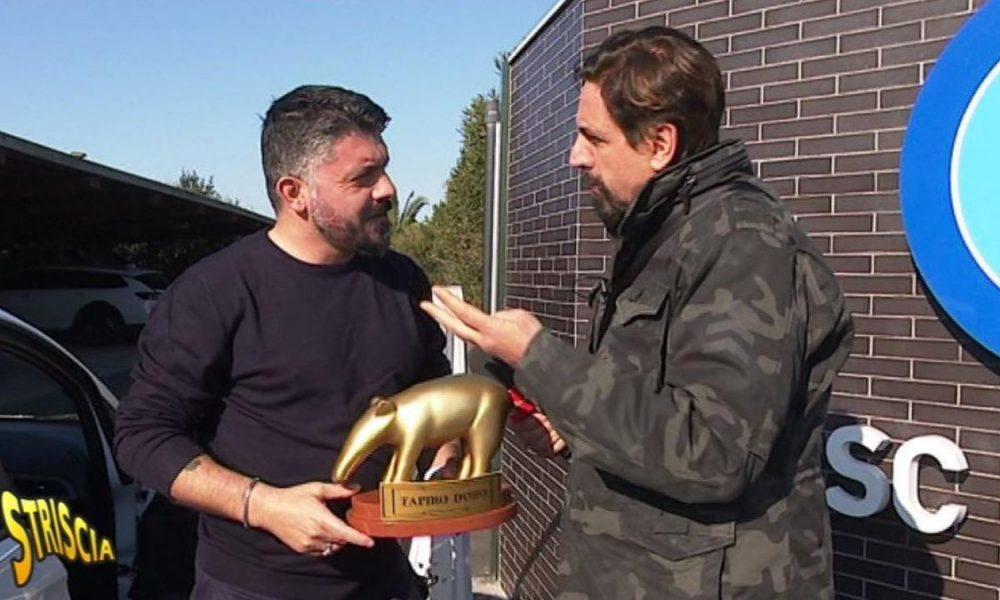 Napoli, Gattuso dopo il Tapiro d'Oro:
