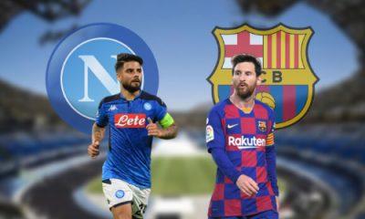 Napoli Barcellona Champions League