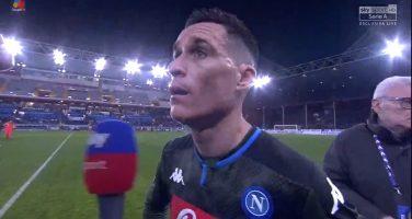 Napoli, l'agente di Callejon ha dato il via libera per giocare anche a luglio: il calciatore è in scadenza a giugno