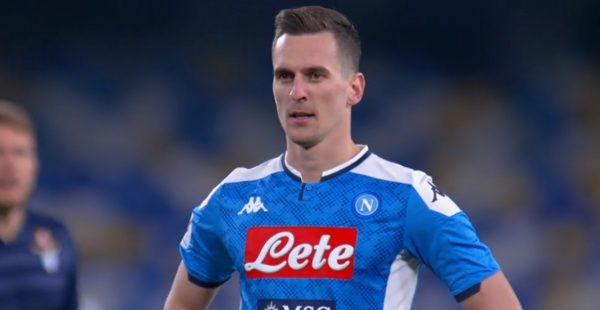 Napoli Calcio news addio Milik