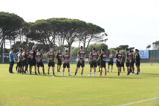 Protocollo allenamenti Napoli