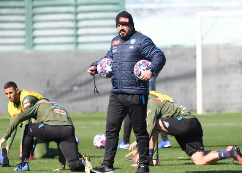 Calcio Napoli news rientro Castel Volturno