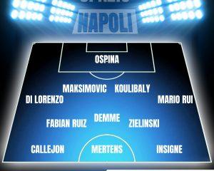Napoli Milan formazioni probabili