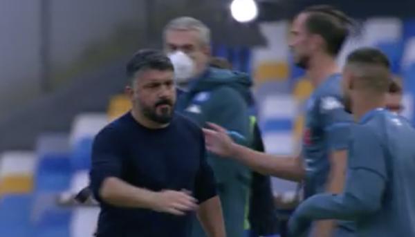 Gattuso Napoli-Atalanta