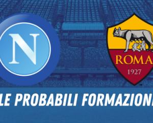 probabile formazione napoli roma