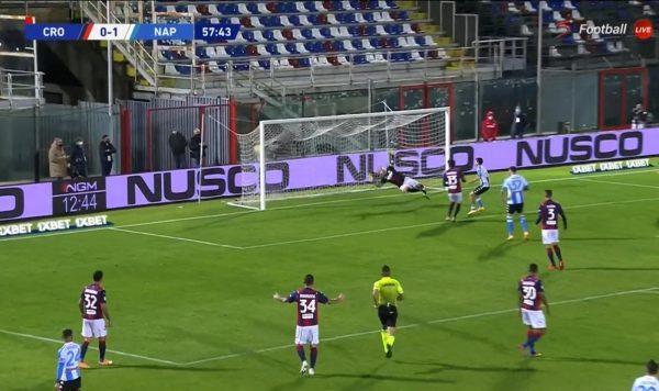 Crotone Napoli 0-4, gli highlights e la sintesi del match