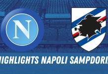 HIGHLIGHTS NAPOLI SAMPDORIA