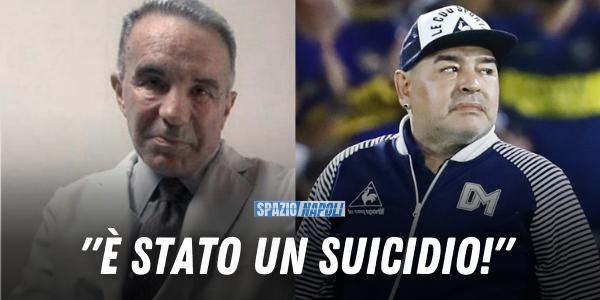 Alfredo Cahe storico medico di Maradona:
