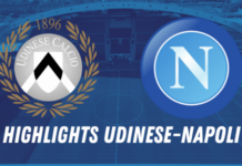 HIGHLIGHTS UDINESE NAPOLI
