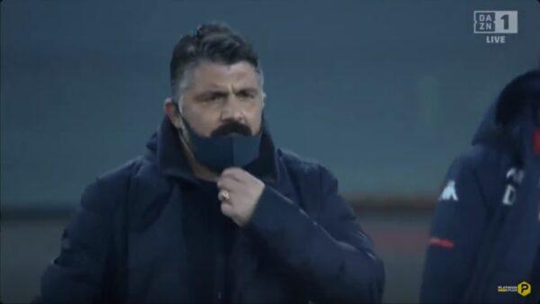 Ennesima sconfitta del Napoli: l'esonero di Gattuso a fine stagione sembra ormai inevitabile