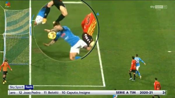 Politano gol Benevento