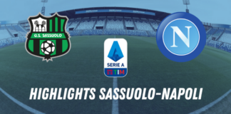 HIGHLIGHTS SASSUOLO NAPOLI