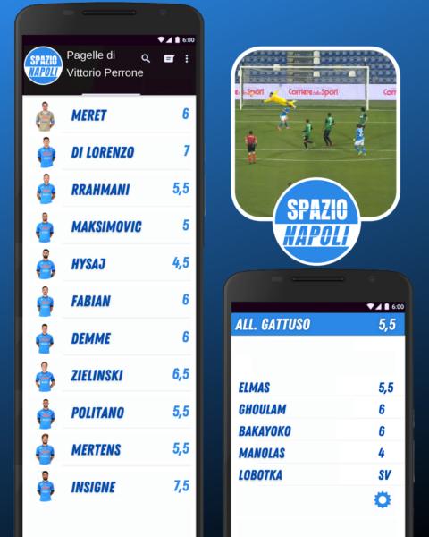 Sassuolo 3-3 Napoli, le pagelle del match: un Napoli dalle due facce butta tre punti