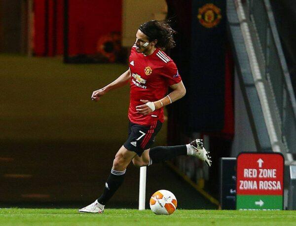 Bomba dall'Inghilterra, Cavani scontento al Manchester United: occasione per tornare in Serie A