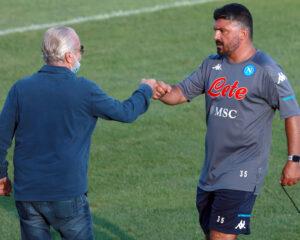 """Alvino spiega il tweet di De Laurentiis: """"Avevano insinuato che fosse arrabbiato con Gattuso"""""""