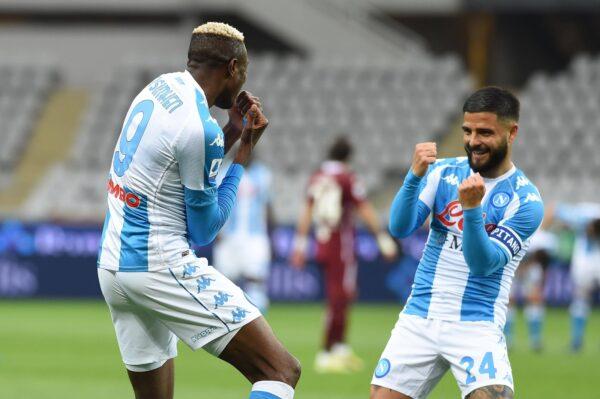Torino-Napoli 0-2: tutti i gol della partita vinta dagli azzurri