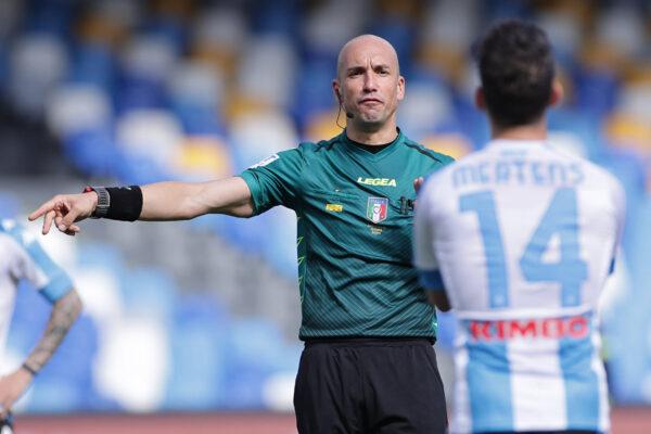 Nessuna designazione in Serie A per Fabbri dopo Napoli-Cagliari: punito per l'errore sul gol di Osimhen?