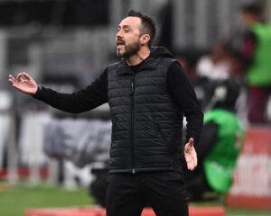 """De Zerbi: """"A Napoli ho avvertito un mutamento professionale che mi ha migliorato"""""""