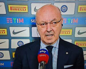 """Inter, Marotta spiega: """"Faremo colloqui con i calciatori per tagliare gli stipendi. Modello attuale di calcio non più sostenibile"""""""