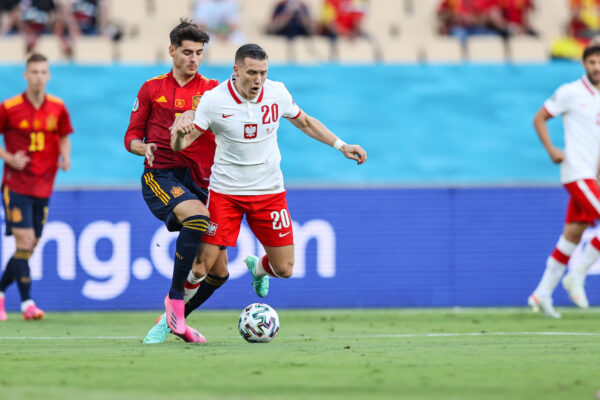 Spagna-Polonia 1-1: Zielinski in campo 90', Fabian entra al 68'