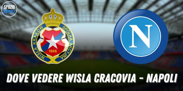 Dove vedere Wisla Cracovia Napoli