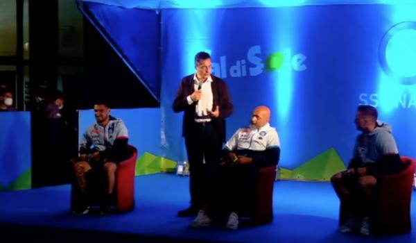 VIDEO   #SPALLETTI , #ZIELINSKI E #POLITANO CANTANO COI TIFOSI!