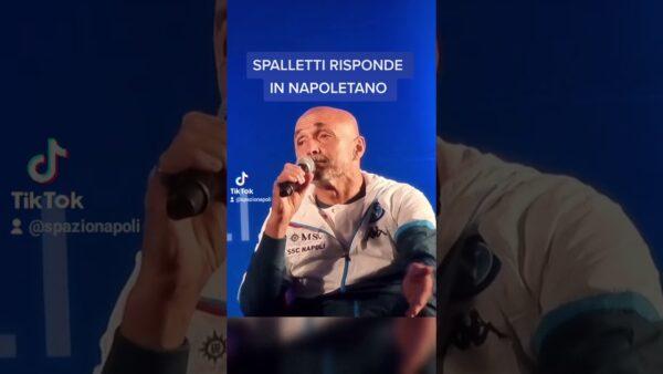 VIDEO | Spalletti e la risposta (vera) e divertente in napoletano sulla cazzimma 💙
