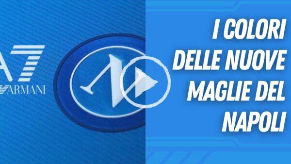 VIDEO | NUOVE MAGLIE DEL NAPOLI, I COLORI