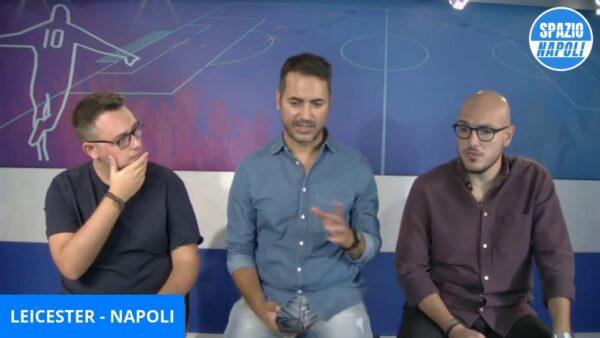 VIDEO   LIVE LEICESTER NAPOLI - COMMENTALA CON NOI
