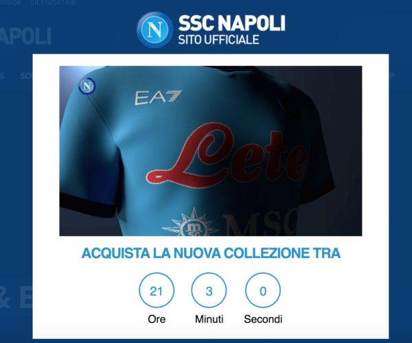 Maglie del Napoli targate EA7, c'è l'indizio: quando saranno in vendita (FOTO)